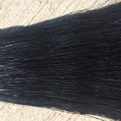 Jet Black Tail Hair- 1 Pound Bundle