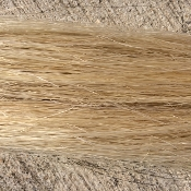 White (Golden) Tail Hair- 1/2 Pound Bundle